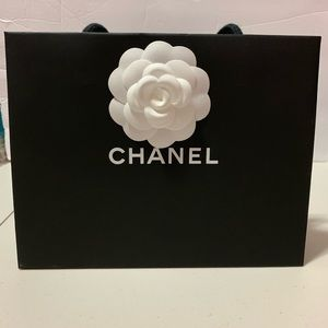 Chanel small gift bag